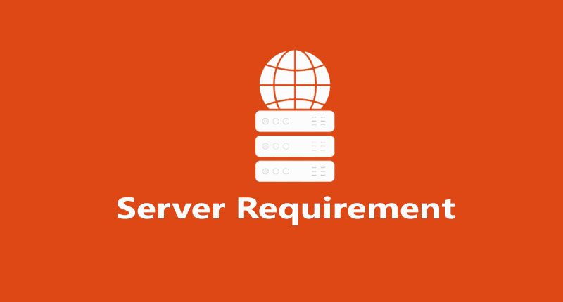 What is server requirement for codeigniter  4